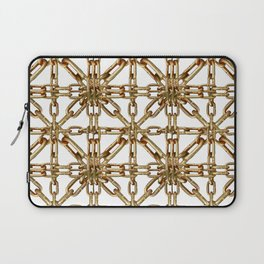 Chain Pattern Collage Laptop Sleeve