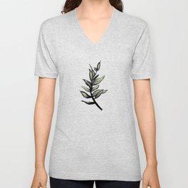 Sprig of Leaves - Katrina Niswander Unisex V-Neck