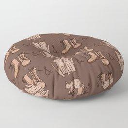 BOOTS & CATS Floor Pillow