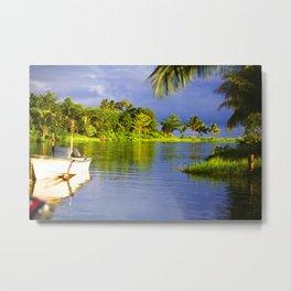 Samoa Lagoon Metal Print