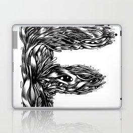 The Illustrated F Laptop & iPad Skin