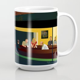 NIU Philosophy Nighthawks Coffee Mug