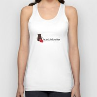 ouat Tank Tops featuring Outlaw Queen Quote (OUAT) by CLM Design