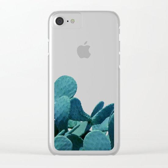 Kaktos #society6 #decor #buyart Clear iPhone Case