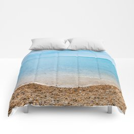 sea sand beach 4 Comforters
