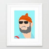 life aquatic Framed Art Prints featuring life aquatic  by Chad spann