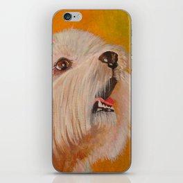 Westhighland White Terrier Portrait iPhone Skin