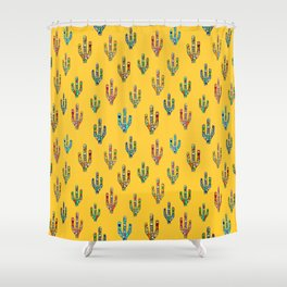 Mexican Style Shower Curtains