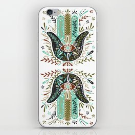 Hamsa Hand – Earth Palette iPhone Skin