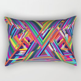 The Shattering Rectangular Pillow