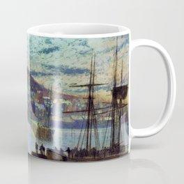 Whitby Harbor - Digital Remastered Edition Coffee Mug