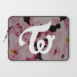 twice floral Laptop Sleeve