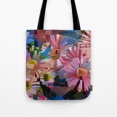 A Daisy Abstract Tote Bag