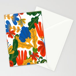 Tropical Flower Pattern II Stationery Cards