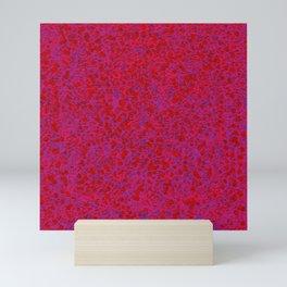 neon blur Mini Art Print