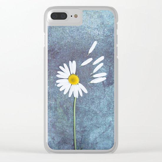 Daisy III Clear iPhone Case