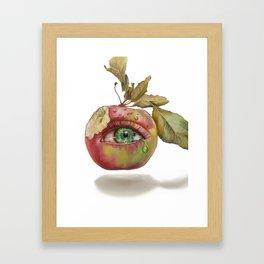 The Apple of my Eye Framed Art Print
