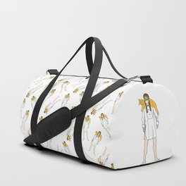 Holly and Cat Duffle Bag