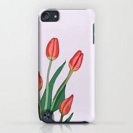 Tulip Illustration iPhone Case