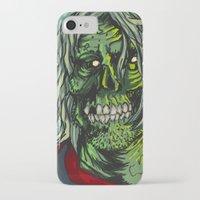 kurt rahn iPhone & iPod Cases featuring Zombie Kurt by Zherj