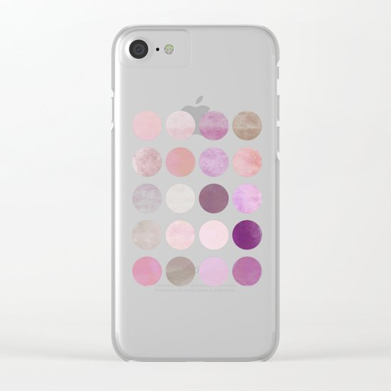 NO. 86 Clear iPhone Case
