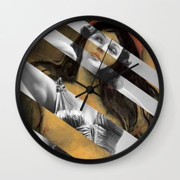 Munch & Rita Hayworth Wall Clock