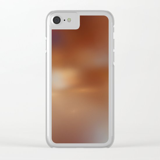 pure spirit Clear iPhone Case