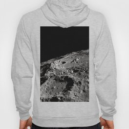 Terraced Wall Crater on the Lunar Limb Hoody
