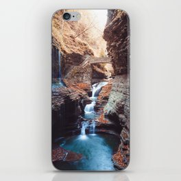 Waterfall at Watkins Glen iPhone Skin