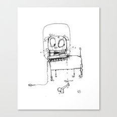 Spacedog Canvas Print
