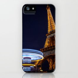 Eiffel Carousel iPhone Case