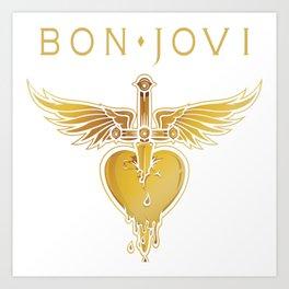 BON JOVI 01 Art Print