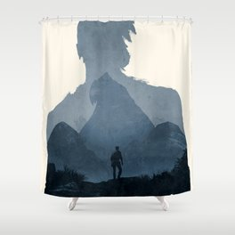 Uncharted 4 Shower Curtain