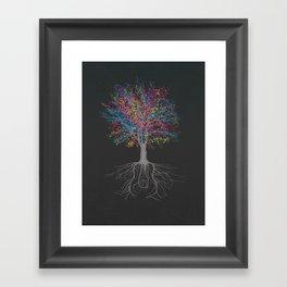 It Grows on Trees - Technicolor Framed Art Print