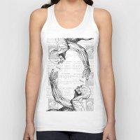 anatomy Tank Tops featuring Anatomy by Alberto P