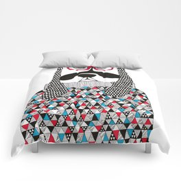 Hipster dog  Comforters