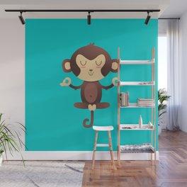 ChimpanZEN Wall Mural