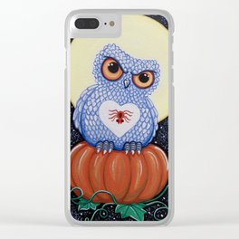 Protector of the Pumpkin Clear iPhone Case