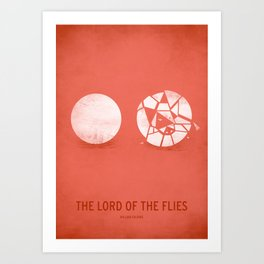 The Lord of the Flies Art Print