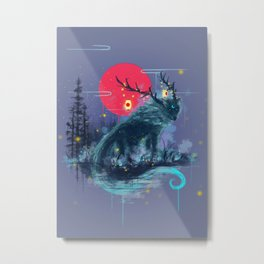 The Path Keeper Metal Print