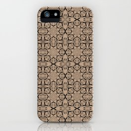 Hazelnut Geometric iPhone Case