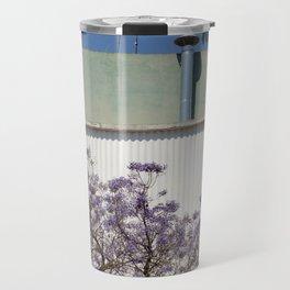 Jacaranda, Lisbon street Travel Mug
