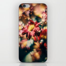 Red Flowers in Wilt 8 iPhone Skin