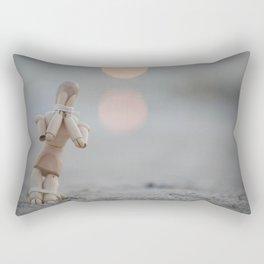 the beggar  Rectangular Pillow