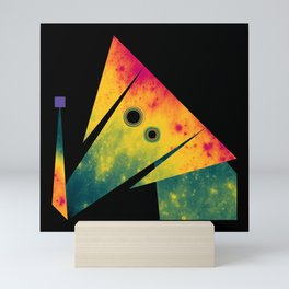 Elephant Exploring Space Mini Art Print
