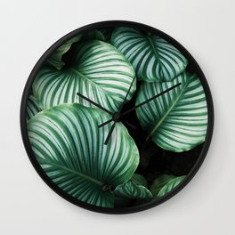 Botanical Fresh Paradise Wall Clock