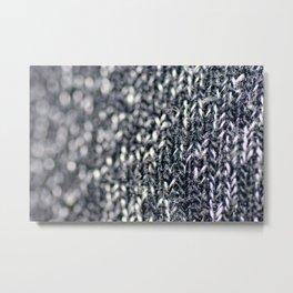 Megan Wearing Soo's Sweater Metal Print