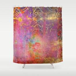 Boho Rose Shower Curtain