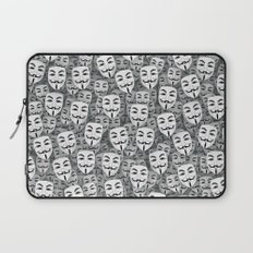 Anonymous masks Laptop Sleeve
