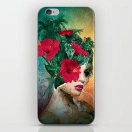Broken Beauty II iPhone Skin